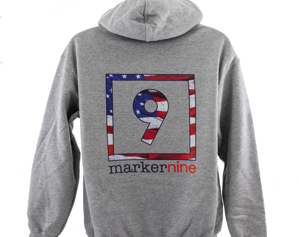 Star Spangled Pullover Hoodie