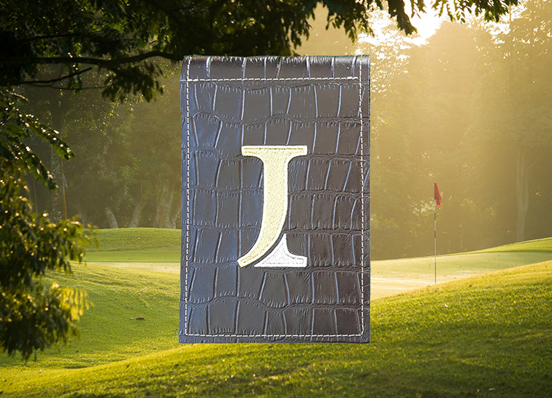 Custom Exotic Skin Yardage Book Cover