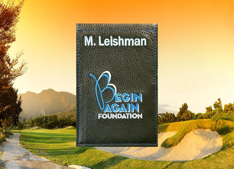 Custom Yardage Book Cover
