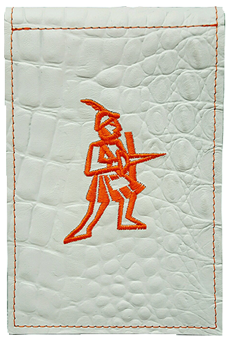 Exotic Skin Embossed Yardage Book Cover