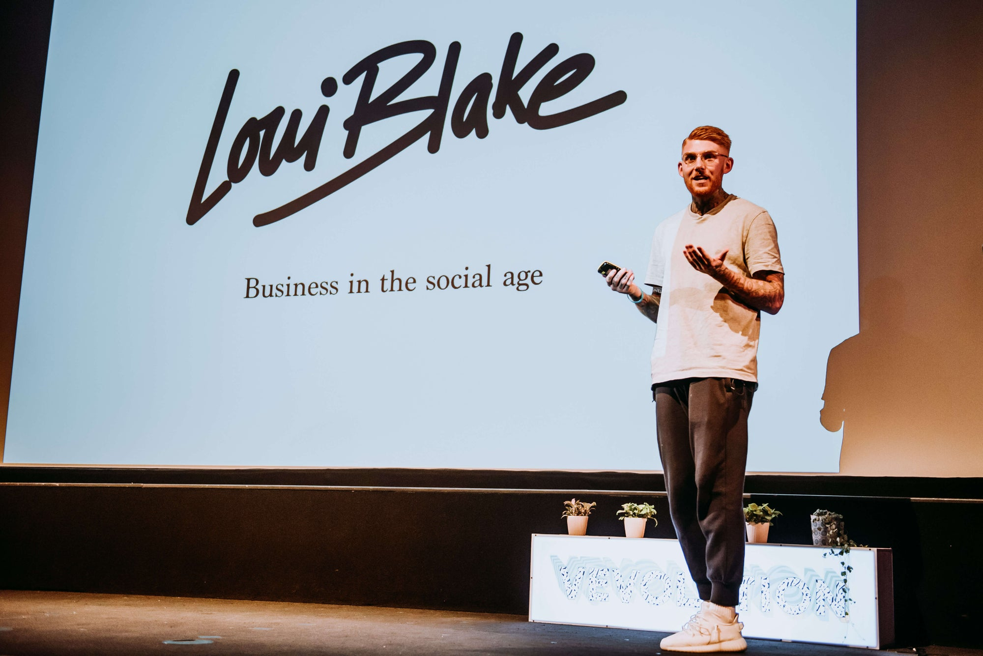 Interview with Loui Blake: Vegan Extraordinaire