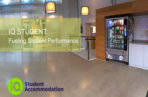 iQ Student Accommodation. Improving Student Wellbeing.