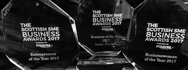 HEALTHY NIBBLES WINS BEST SCOTTISH INNOVATION AWARD