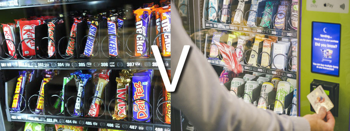 TRADITIONAL VENDING v HEALTHY VENDING