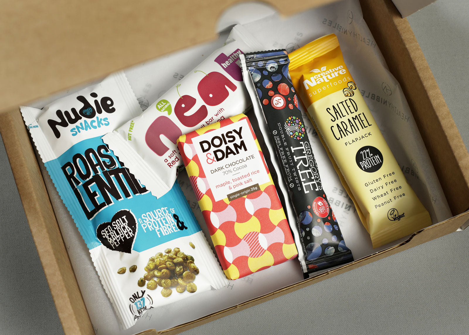 Nut-free healthy snack boxes - great to graze on