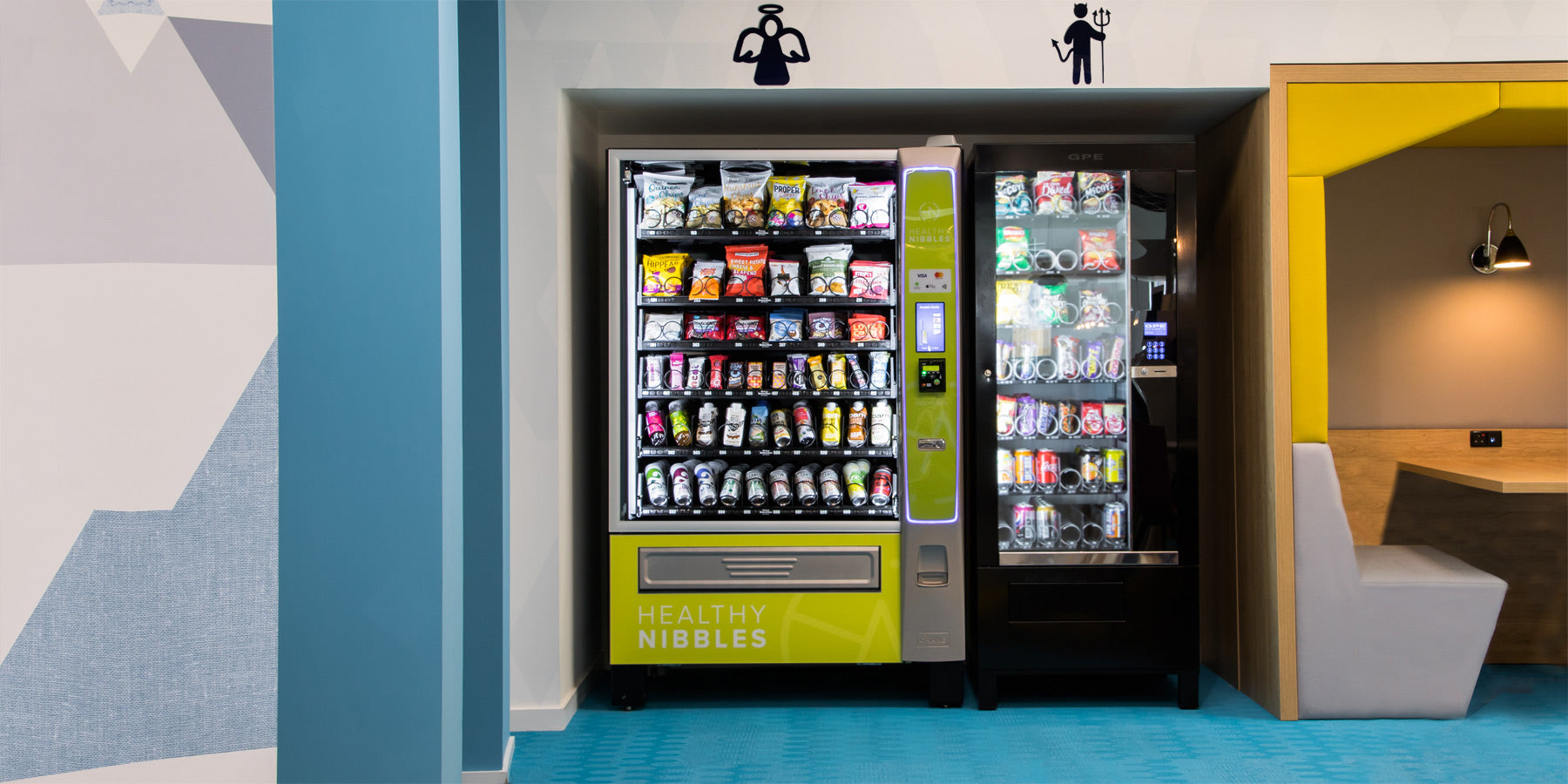 Healthy vending and snack boxes for offices to improve employee wellbeing