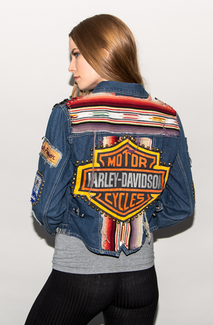 "FSLA ""California Dreamin' ""Denim Jacket"