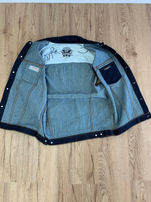 # Sailor Jerry x Iggy Pop Signed Limited Edition Collaboration Denim Vest