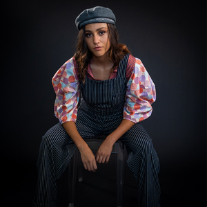 "Forgotten Saints LA ""Modern Factory"" Denim Striped Overalls"