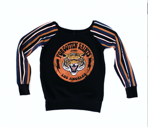 "x Forgotten Saints LA ""Tiger 95"" Striped Sweatshirt"