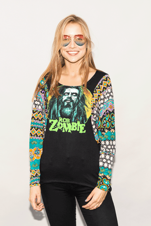 "FSLA ""Rob Zombie"" Tunic Top"