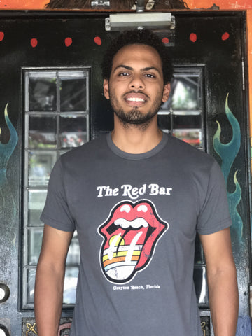 Red Bar Rolling Stones Tee