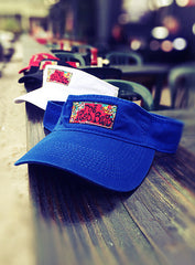Red Bar Classic Patch Visor