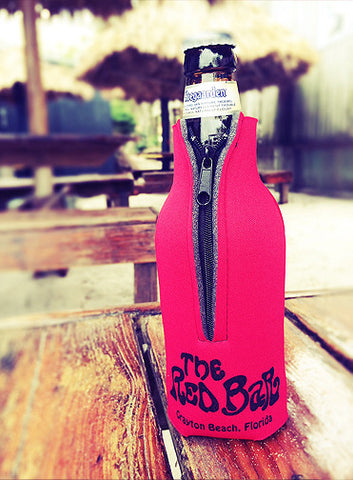 Red Bar Bottle Coozie