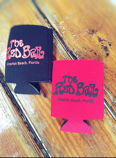 Red Bar Pocket Coozie