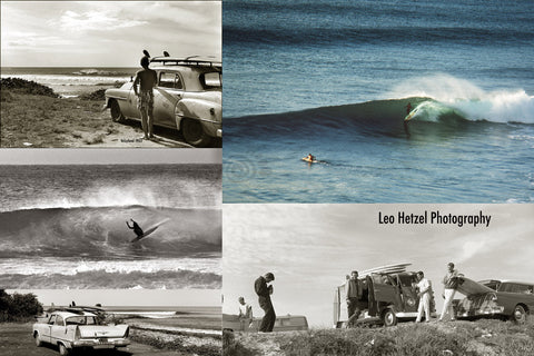 vintage surfing by Leo Hetzel Hodaddy