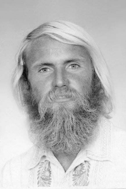 Peter Green portrait photo for Hodaddy vintage surfing