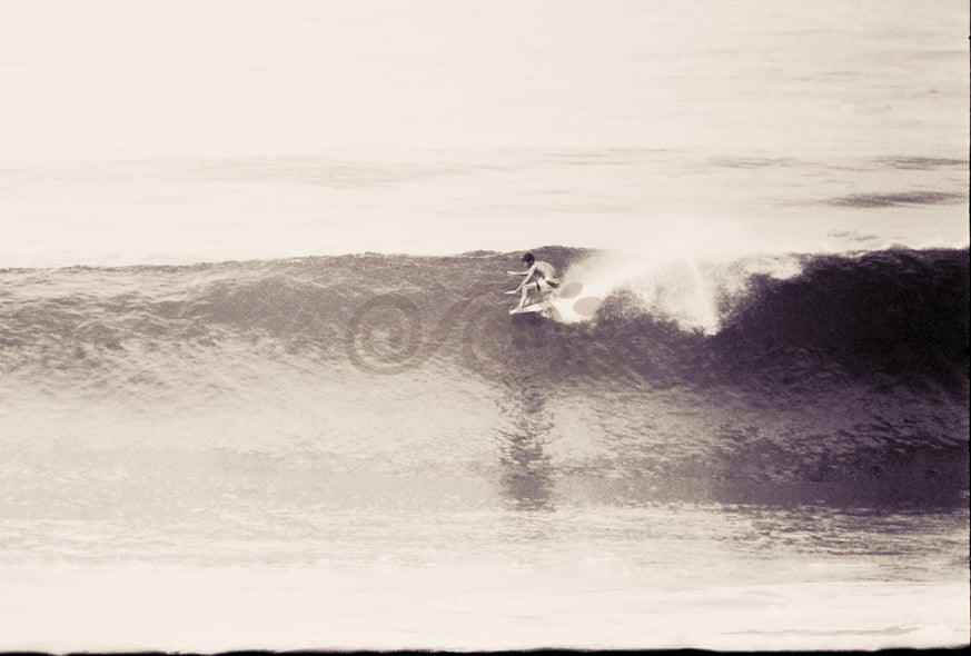 Bobby Brown (r.i.p) Surfing Bells Beach