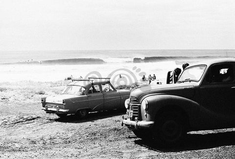 Surf Cars on the beach