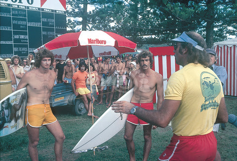 1977 Stubbies Mark Richards and Michael Peterson