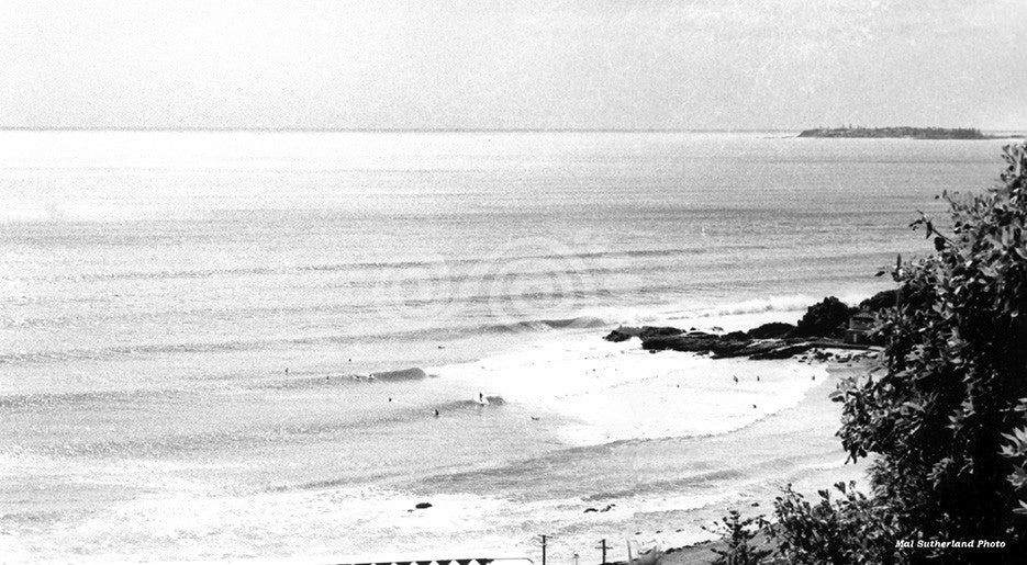 Currumbin 1963 by Mal Sutherland