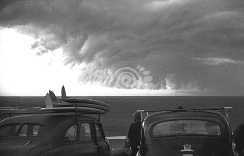 Port Kembla clouds August 1963
