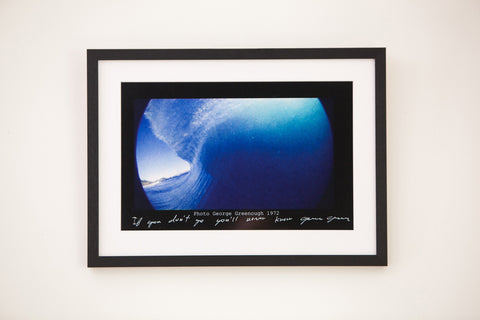 George Greenough - surfing memorabilia (Signed)
