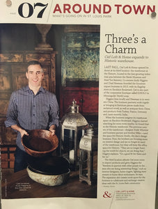 Three's A Charm - Ciel expands to Historic warehouse.