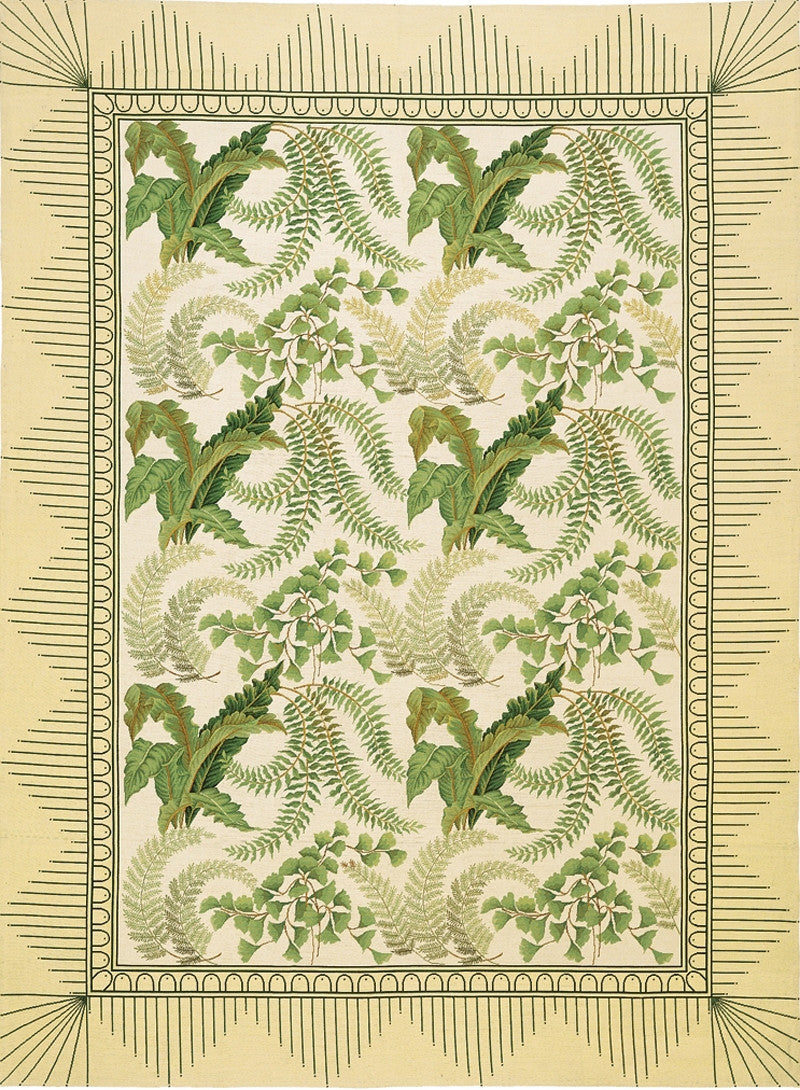 Ferncroft Needlepoint Rug