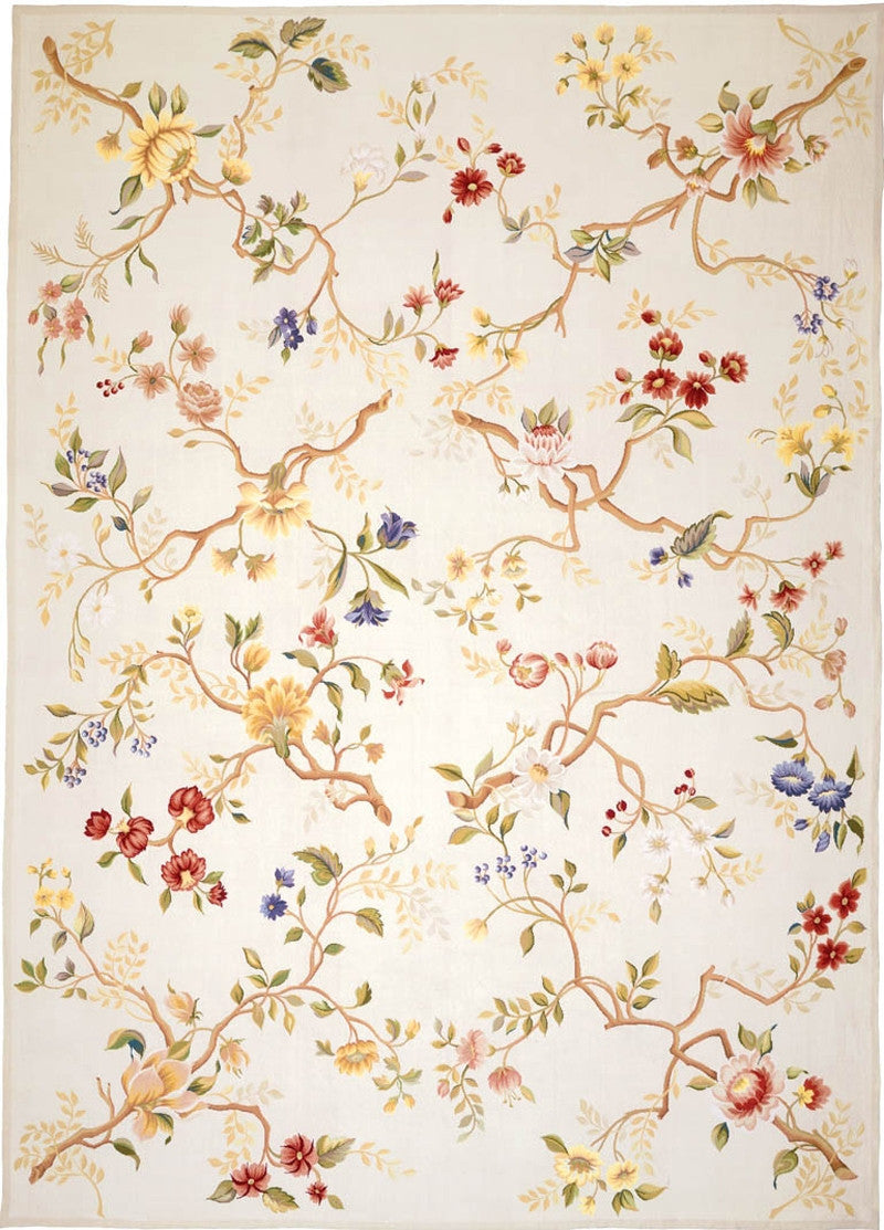 Branches Needlepoint Rug