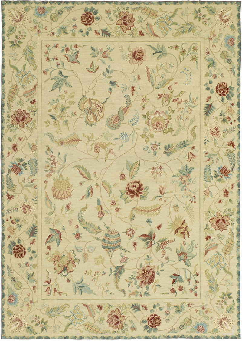Palempore D Needlepoint Rug