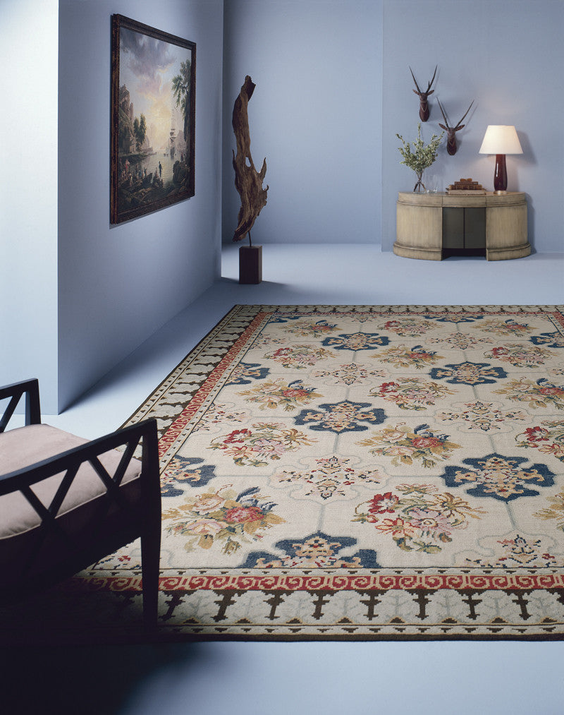 Canterbury Needlepoint Rug