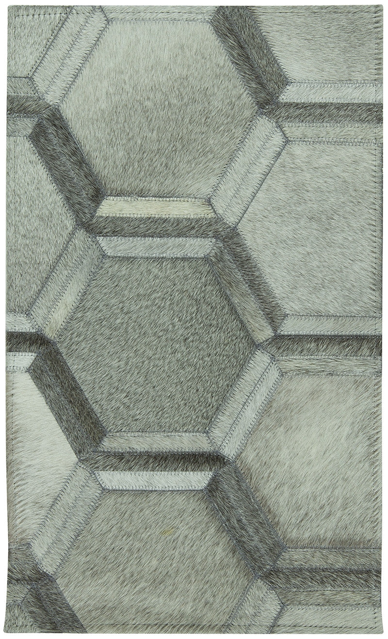 Honeycomb Cowhide Rug
