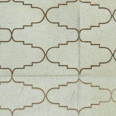 Gilt Cowhide Rug