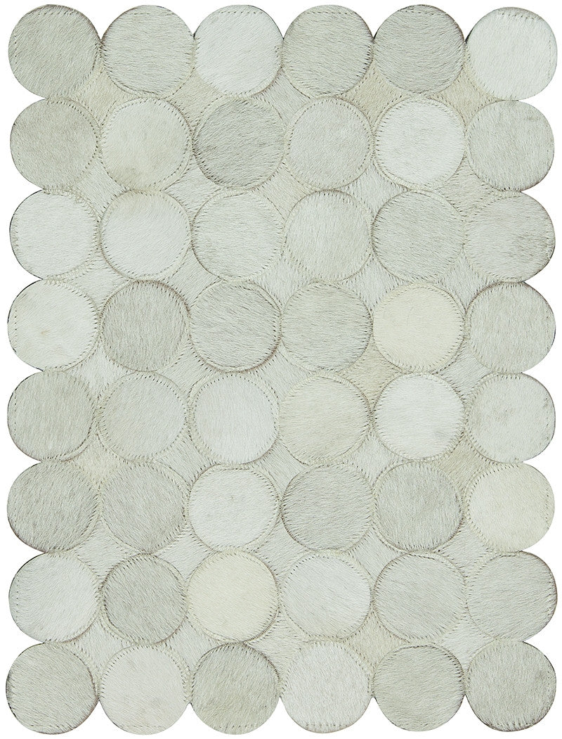 Roundabout WHI Cowhide Rug
