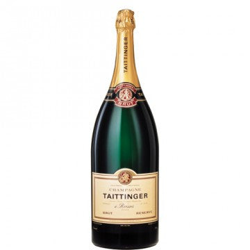 Champagne Taittinger 6 liter Methusalem in kist