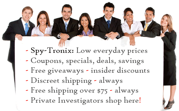 spy-tronix security - surveillance - spy store shop