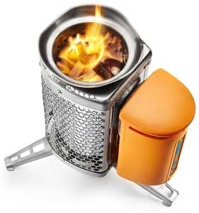 BioLite Wood Burning Campstove converts heat into electricity - emergencies - survival kits - be prepared