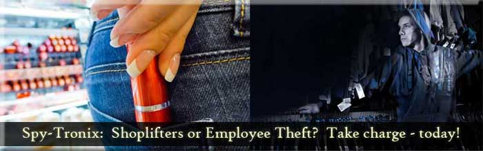 Loss Prevention - Shoplifting - Employee Theft at Work
