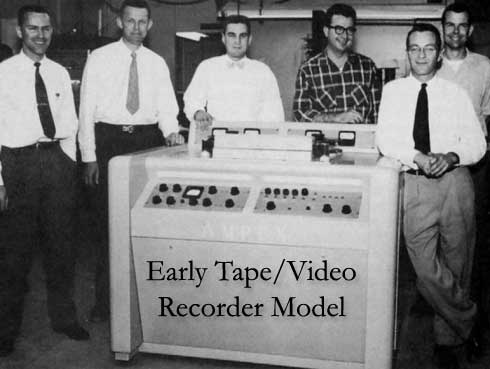 Early Tape and Video Recorder