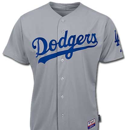 los angeles dodgers official jersey