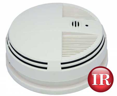 Wi-Fi smoke detector night vision hidden spy security surveillance camera