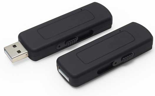 voice activated flash drive digital voice recorder