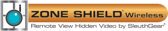 zone shield wireless hidden - spy security internet surveillance cameras