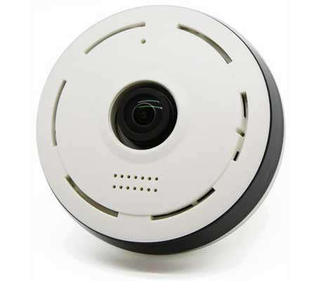360 Degree Viewing Angle Wi-Fi Camera (Fisheye Lens)