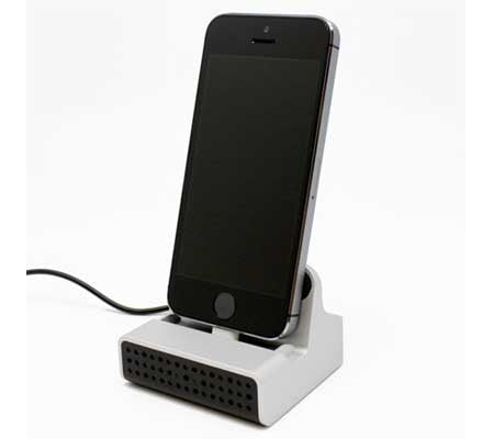 iPhone Charging Dock Wi-Fi DVR Stealth HD Camera