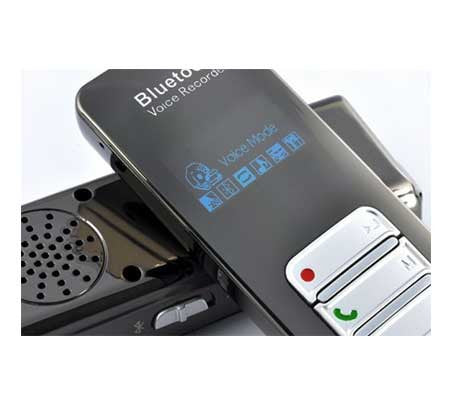 Bluetooth Cell Phone Recorder - Pro-Grade Digital Voice Recorder