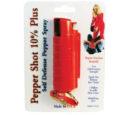 10% Pepper Shot Pepper Spray - Hard Case