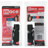 mace pepper spray - jogging - walking - exercising - outdoors - self defense