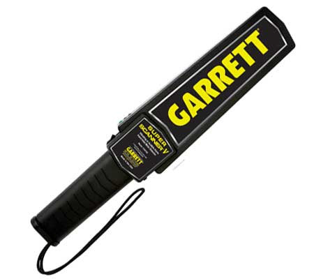 Metal Detector Garrett Super Scanner V on gps tracking detector